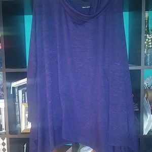 Dark purple 3x dnky jeans top.